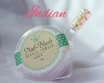 Acrylic nail powder  Indian 15g by Nail-Blush