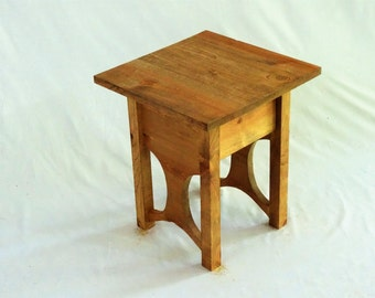 Customizable Cottage End Table Narrow
