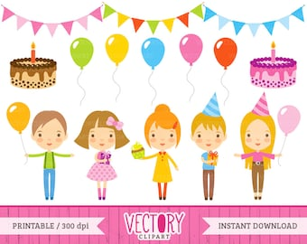 Birthday Clipart by VectoryClipart