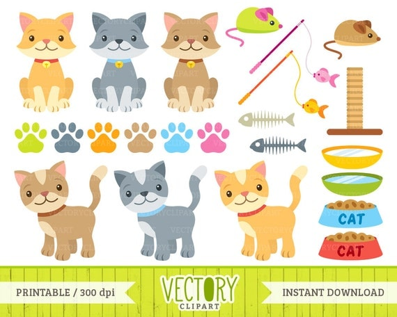 clipart cat toys - photo #21