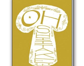 Greeting Card: Oh Shiitake!