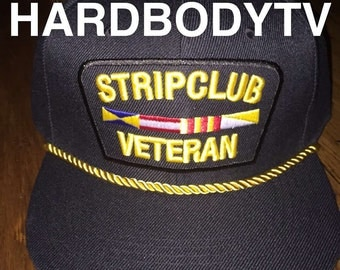 Strip Club vet hat Black