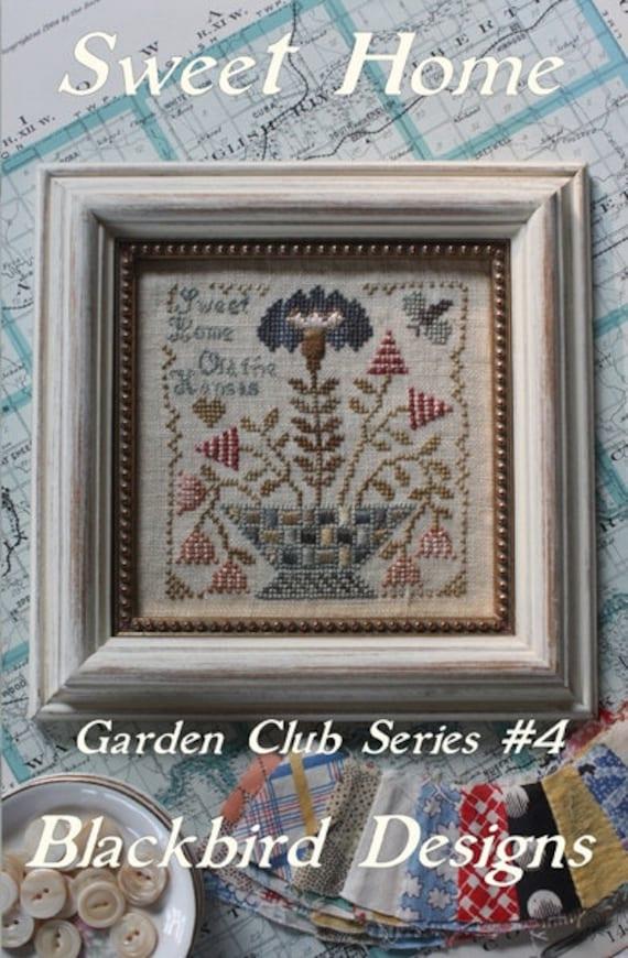 Blackbird Designs Sweet Home Garden Club By Needlecasegoodies