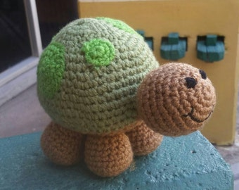 Crochet turtle toy. Amigurumi turtle stuffed turtle. Plush toy. Stuffed animal. Plush toys.