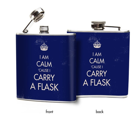 how to carry hip flask