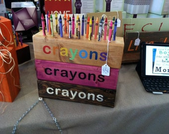 Crayon Storage Block (Set of 2)
