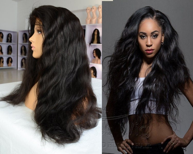 100% Real Human Hair Lace Front Wigs Best Brazilian Hair Wigs