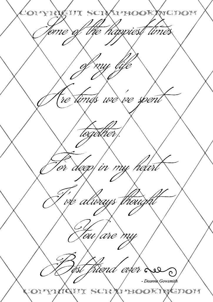 Greeting card VERSES - Original verses by Deanne UMBRELLA ...