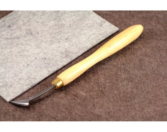 Leather Stitching Groover Vergez Blanchard/Single Creasing Iron with Guide/Leather Edge Creaser/Leather Marker/Creasing Tool/Leather Beveler