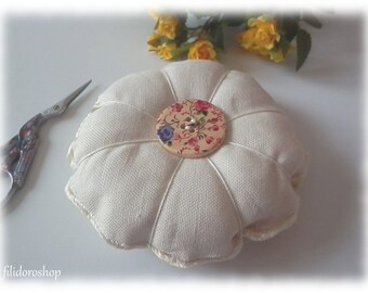 spring flower pincushion