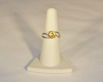 Charismatic Citrine Ring