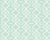 Crib Sheet: Aztec Mint. Crib Sheet. Fitted Crib Sheet. Mint Navajo Crib Sheet. Gender Neutral Crib Sheet. Cream Background. Baby Bedding