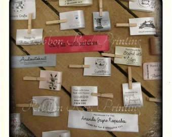 Care Labels / Bespoke Sew In Labels (25mm x 4cm) CE, EN71/3 Approved