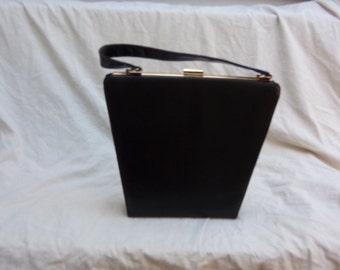 Elegant Vintage handbag, black