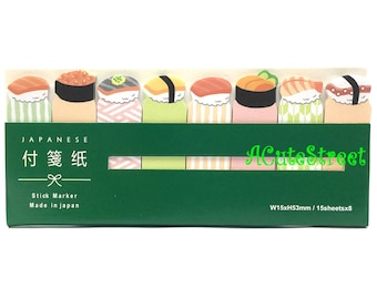 Sushi 8in1 Post IT Notes Sticky Memo SM072821
