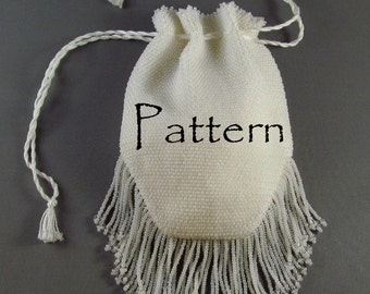 Pattern for Springfield Bead Knit Purse, A Victorian Replica