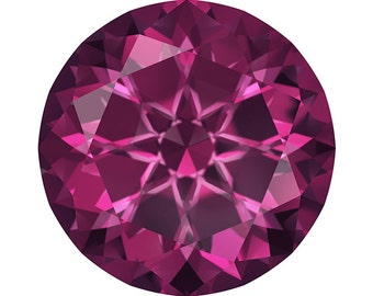 Swarovski Gemstones 3.5MM Loose Rhodolite Garnet Gemstone in a Yummy  Raspberry Color, AAA Flawless, Jewelry Making