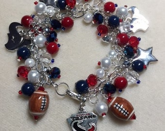 Houston Texans Jingle Bracelet