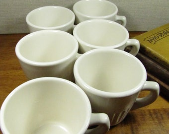 ACC USA Coffee Cups - Ribbed - Set of Six (6)