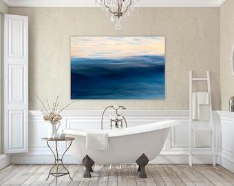 Jade ~ Roger Wheeler Beach, Narragansett, Rhode Island, Canvas, Wall Art, Coastal Home Decor, Fine Art Abstract, Nautical Photography, Art