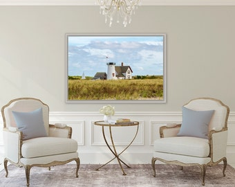 Stage Harbor Light ~ Chatham, MA, Cape Cod, Lighthouse Art, Coastal Artwork, Beach Photography, Nautical, Home Decor, Interior Design,Joules