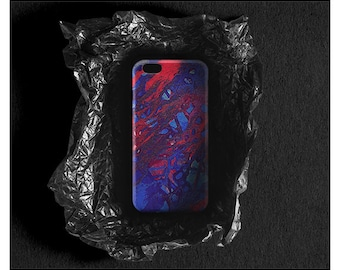 iPhone 7 Case Watercolor iPhone 6 Case iPhone 6 Plus iPhone SE Case iPhone 7 Plus Red & Blue iPhone 4 5 Case Colorful Galaxy S7 Case Xperia
