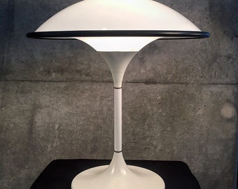 Extremely rare danish table lamp from the early 80s by Fog & Morup and LYFA.