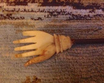 Antique Wig Scratcher, 1800's Wig Scratcher, Antique Back Scratcher,