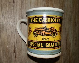 Handmde Cofee/Tea Ceramic mug - The Cabriolet - Special Quality