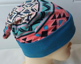 Newborn Beanie Hat, Knotted Baby Hat, Jersey Baby Hat, Soft Baby Hat, Newborn Knot Hat, Top Knot Baby Cap, Baby Knit Cap, Baby Shower Gift