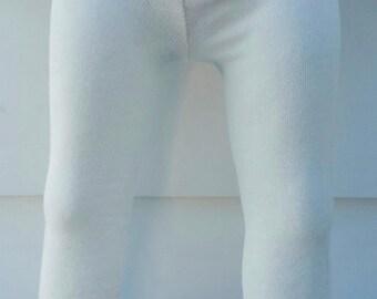 Off White Leggings, Infant Off white leggings, Toddler Off White Leggings, Off White Dance Leggings, Off White Footless Tights