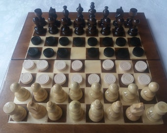 New beautiful hazel wood chess piece,wooden 25x25 cm chessboard box,wooden travel chess set backgammon checkers family game, board game ,toy