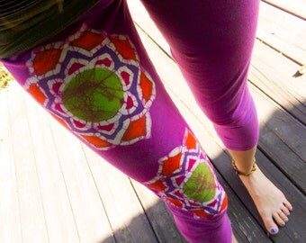 Lotus Mandala Leggings