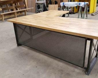 L Shaped Office Desk Modern