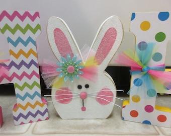Easter Decor-Spring Decor-Hop Easter Letters