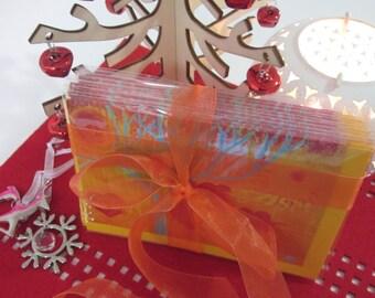 Golden Orb Giclee Christmas Card 10 pack