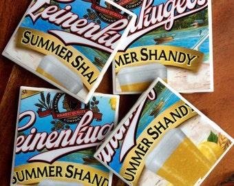 Leinenkugel Summer Shandy Beer Coasters