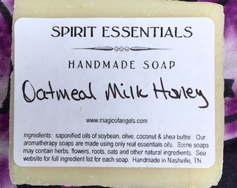 Oatmeal Milk Honey Handmade Soap