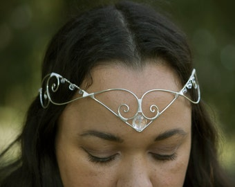 Circlet Crown Tiara Iris Design by BottiVingelo