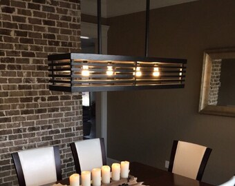 Contemporary Chandelier (Custom)