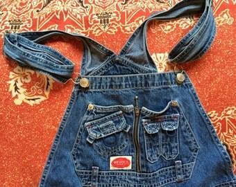 Denim overalls!