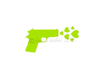 Shoot Like a Girl Decal Gun Decal 2nd Amendment Decal