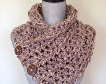 Chunky Cowl - warm cozy crochet cowl. Also available as made to order item.