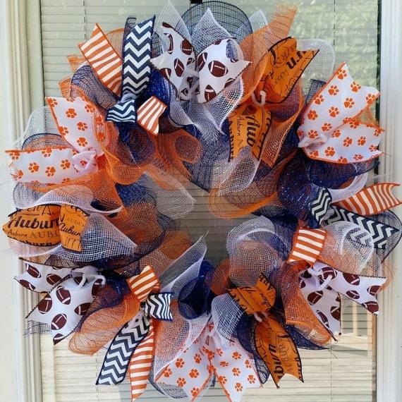 sale Auburn Tigers Wreath Auburn Wreath Tigers by