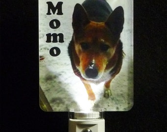 Personalized Photo Night Light - UV Printed acrylic for a durable finish - 3D effect