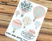 Hot Air Balloons - ADVENTURE AWAITS - PLANNER Stickers {#160256}