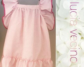 Dress Vichy pink