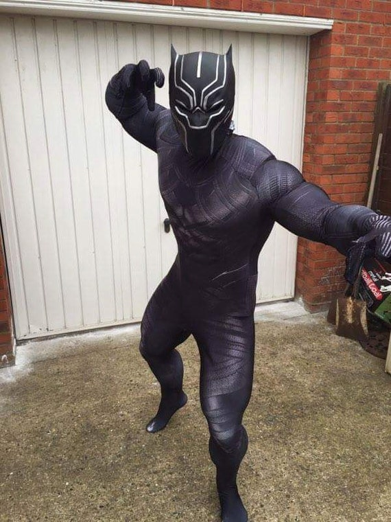 Items Similar To Batman /Black Panther Cowl On Etsy