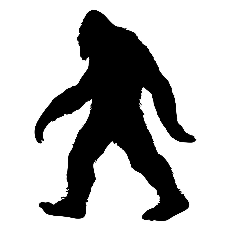 Bigfoot Sasquatch Die Cut Decal Car Window Wall Bumper Phone