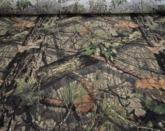 "Mossy Oak Breakup Country® 100% Cotton T-Shirt Hunting Camouflage 56"" Wide By The Yard 36"" Long"